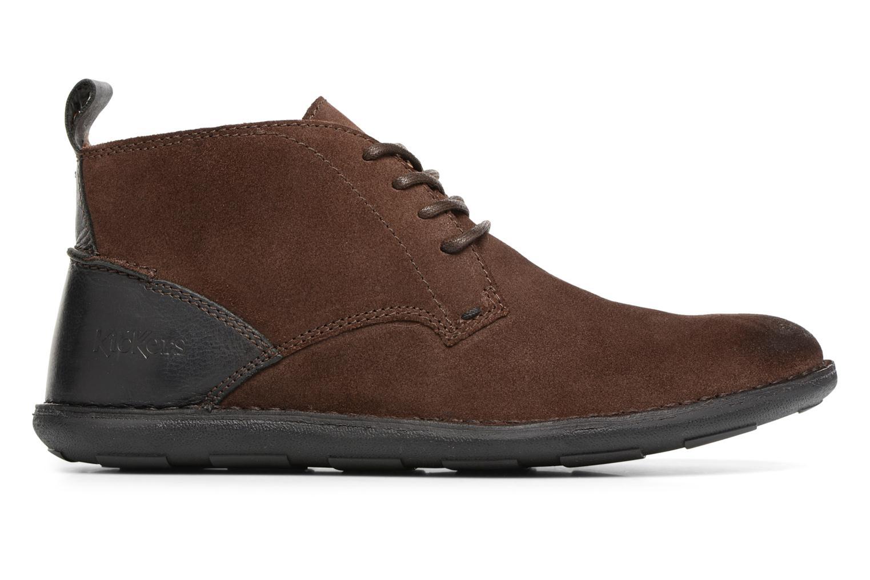 Chaussures à lacets Kickers SWIRATAN Marron vue derrière