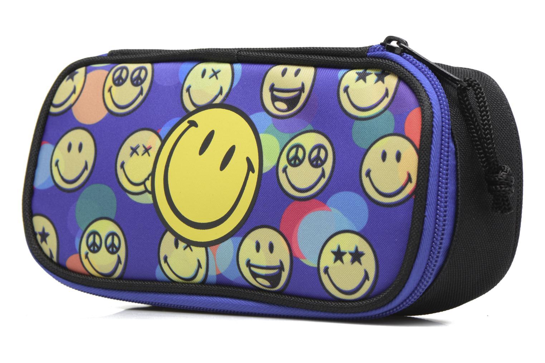 Scolaire Smiley Pen case box Multicolore vue portées chaussures