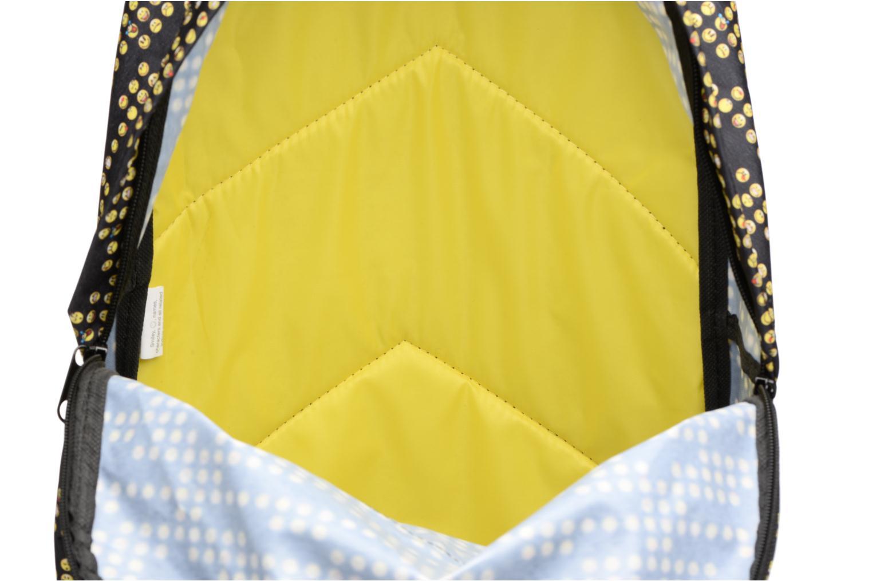 Schulzubehör Smiley Backpack 43cm gelb ansicht von hinten