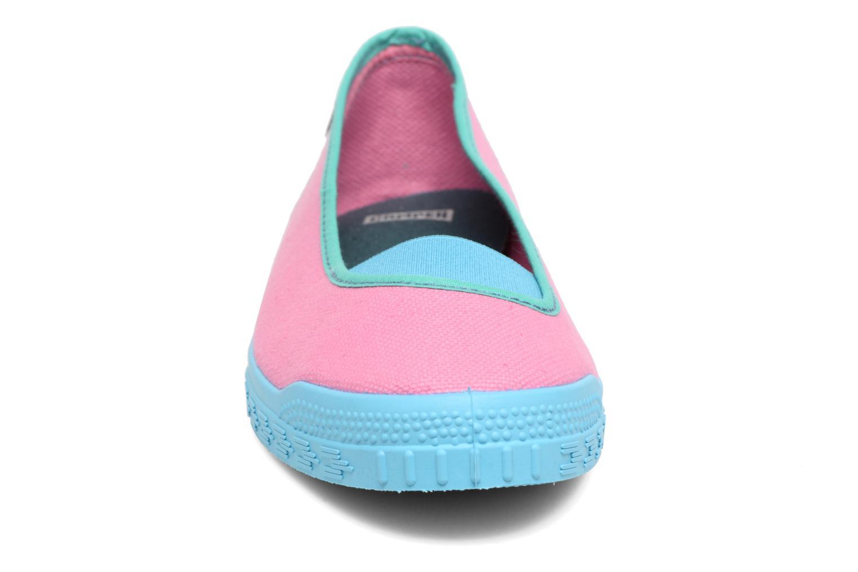 Ballerines Camper TWS K200076 Rose vue portées chaussures