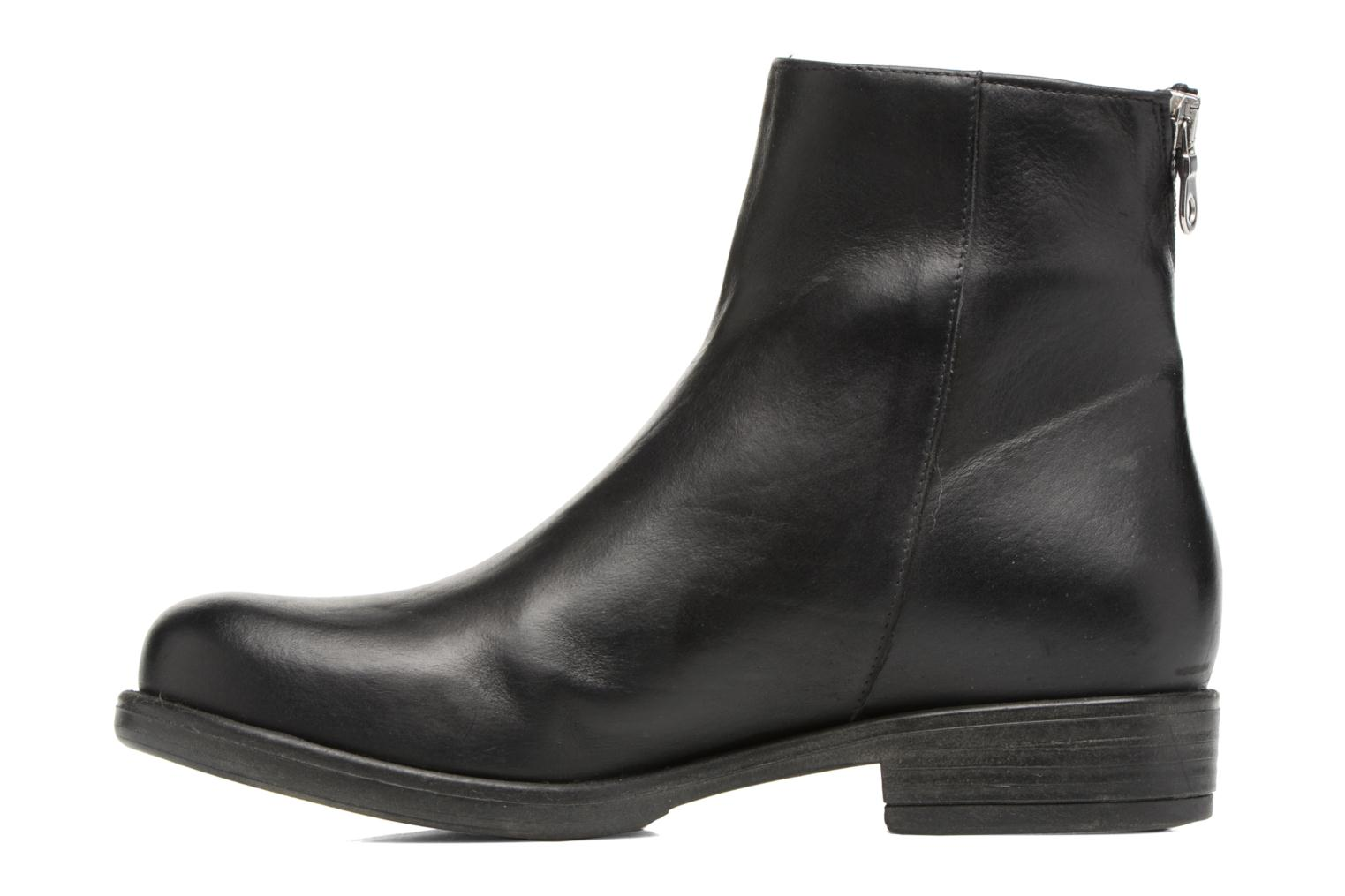 Ankle boots Georgia Rose Matrac Black front view