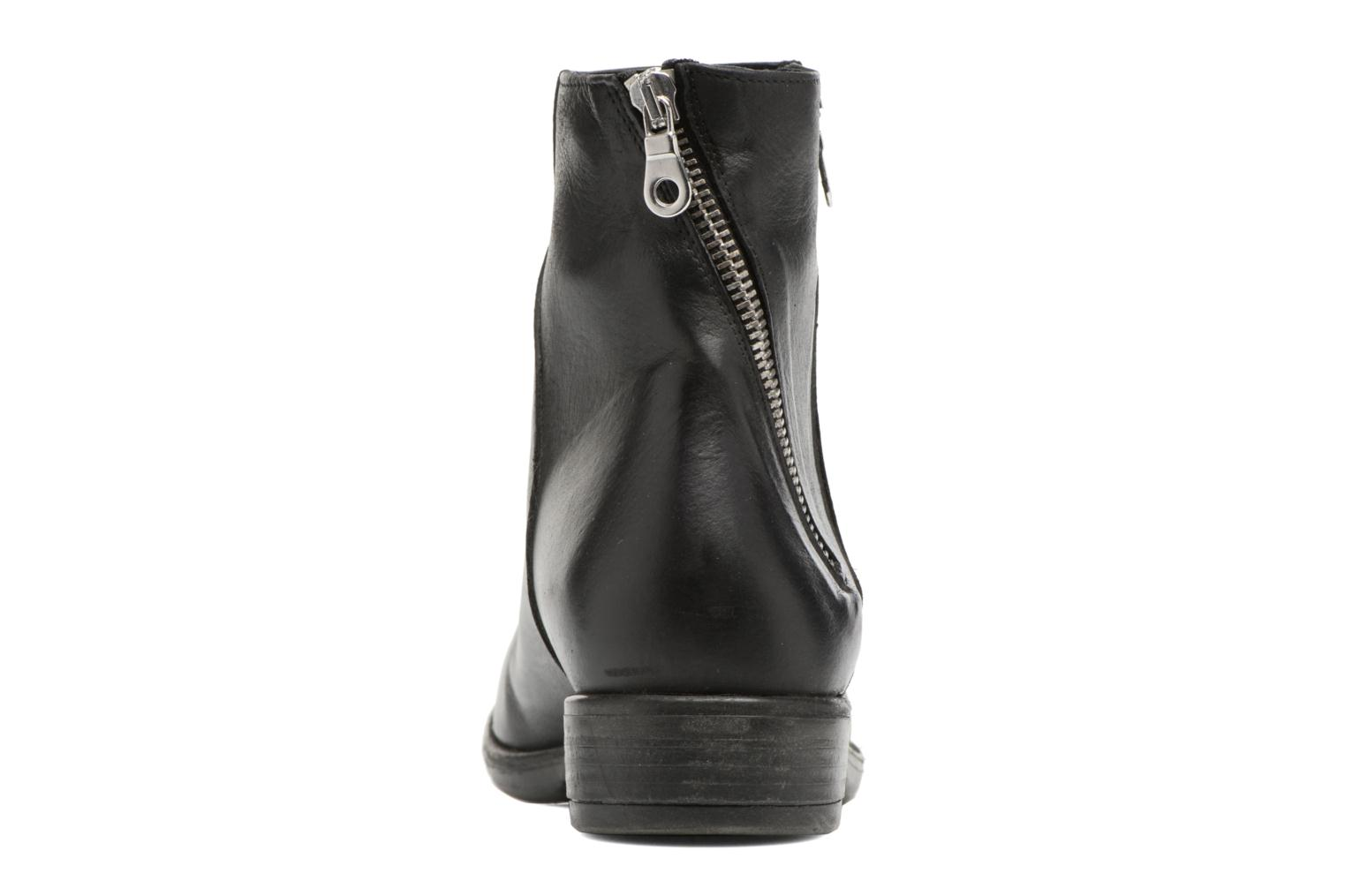 Ankle boots Georgia Rose Matrac Black view from the right