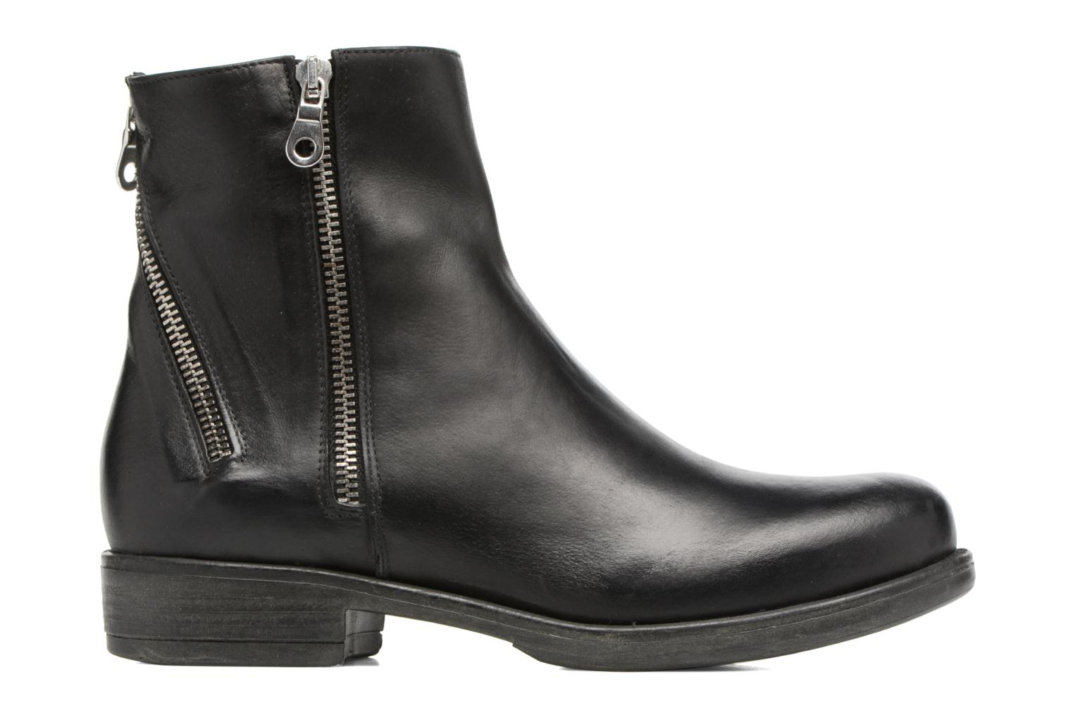 Ankle boots Georgia Rose Matrac Black back view