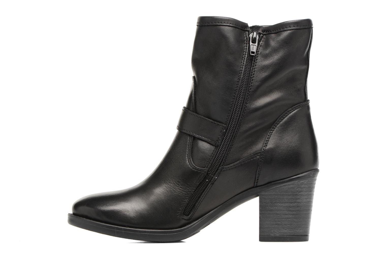 Bottines et boots Georgia Rose Malicia Noir vue face