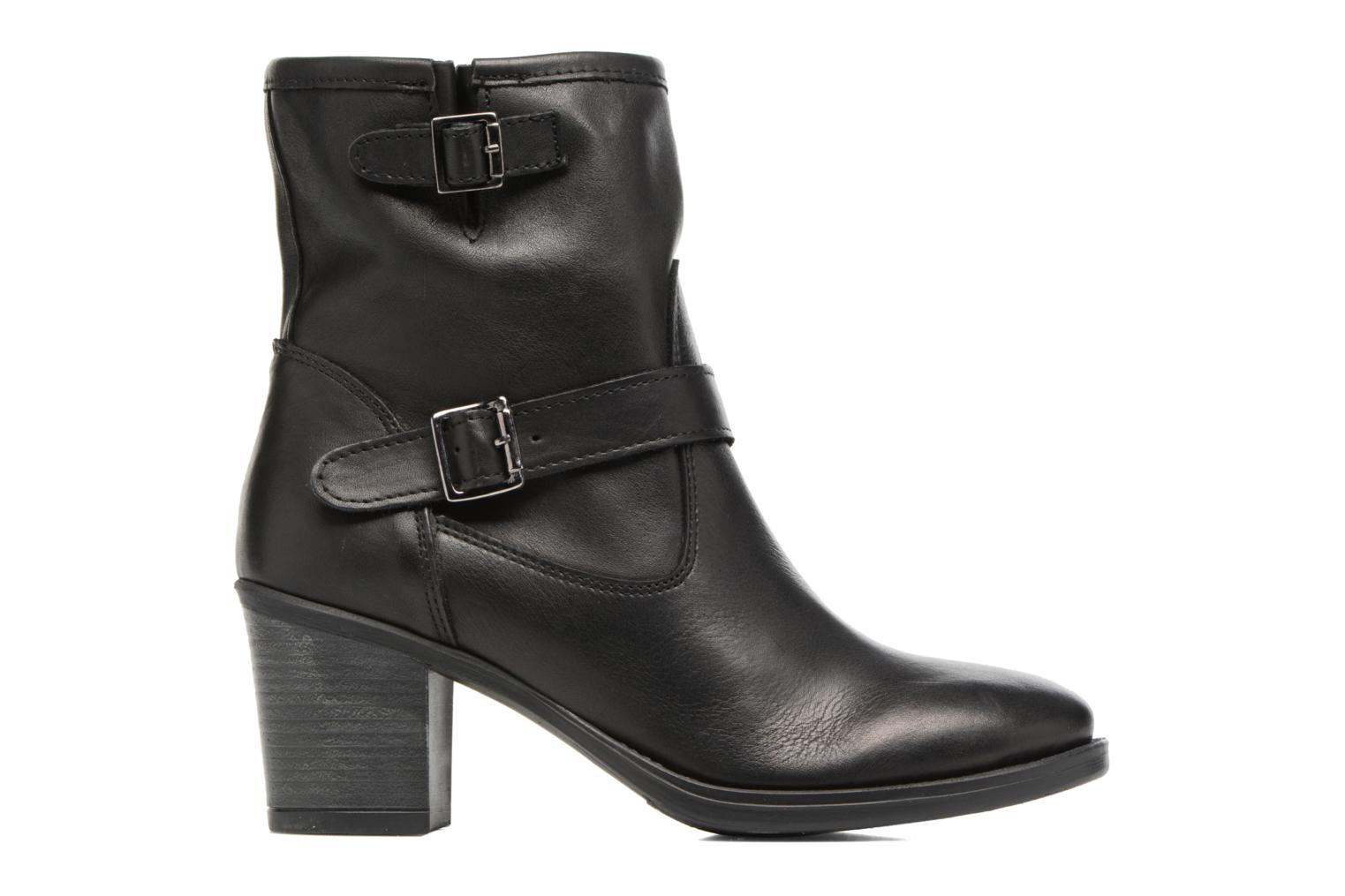 Ankle boots Georgia Rose Malicia Black back view