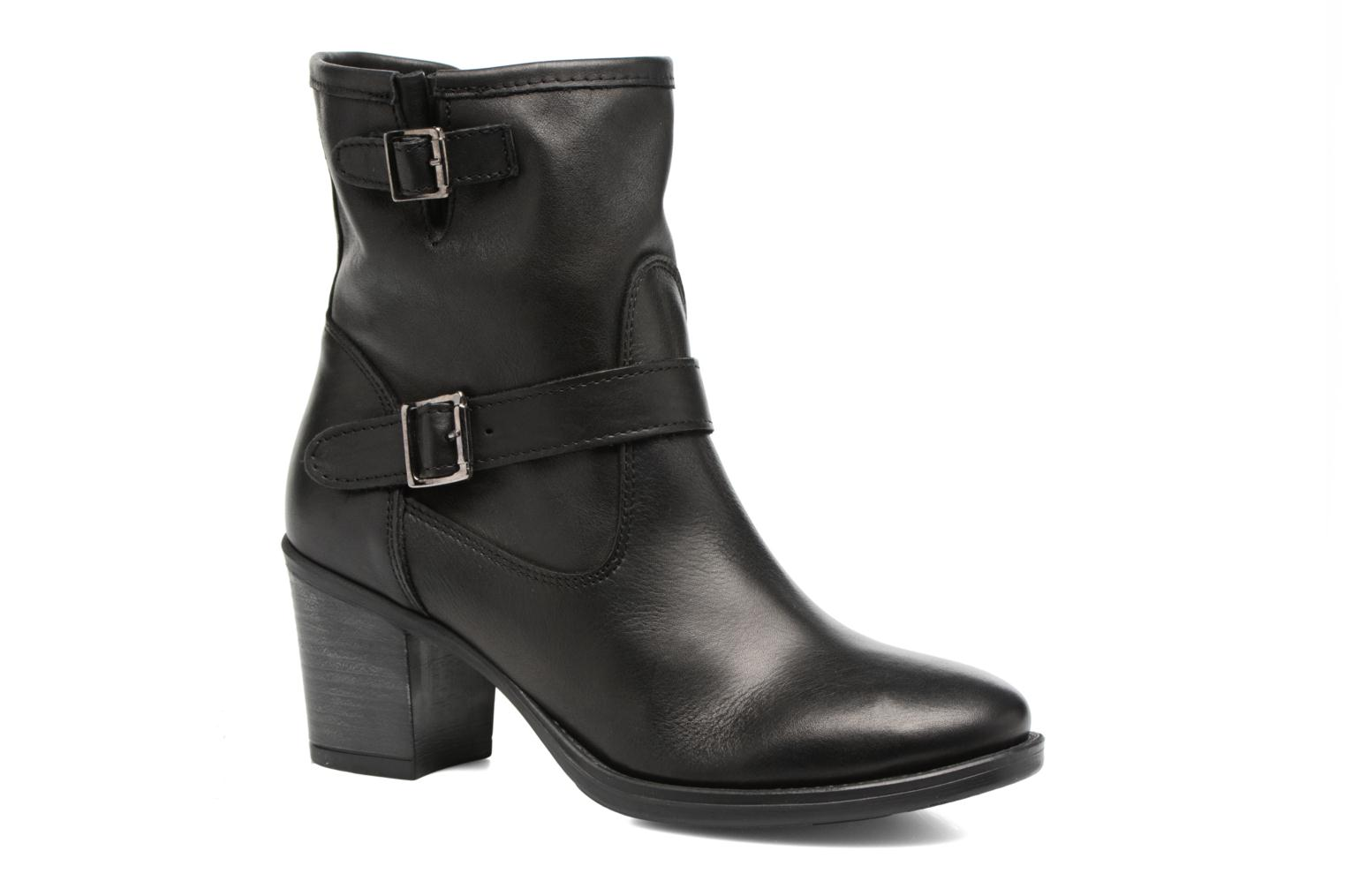 Ankle boots Georgia Rose Malicia Black detailed view/ Pair view