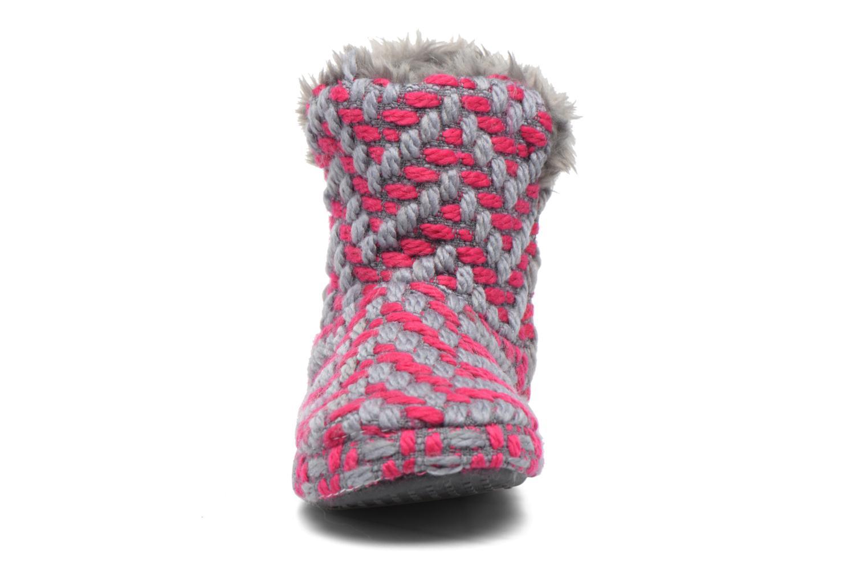 Chaussons Esprit KNITTY BOOTIE Gris vue portées chaussures