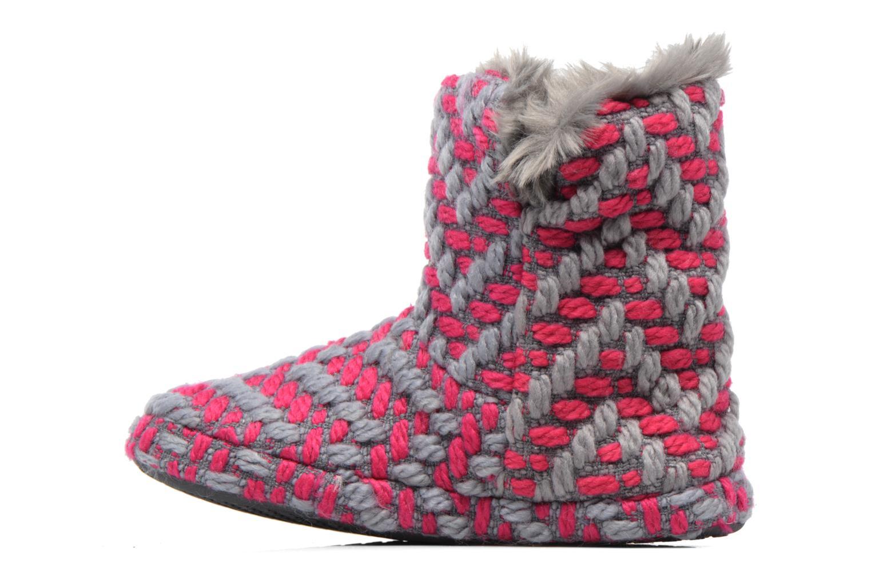 Pantofole Esprit KNITTY BOOTIE Grigio immagine frontale