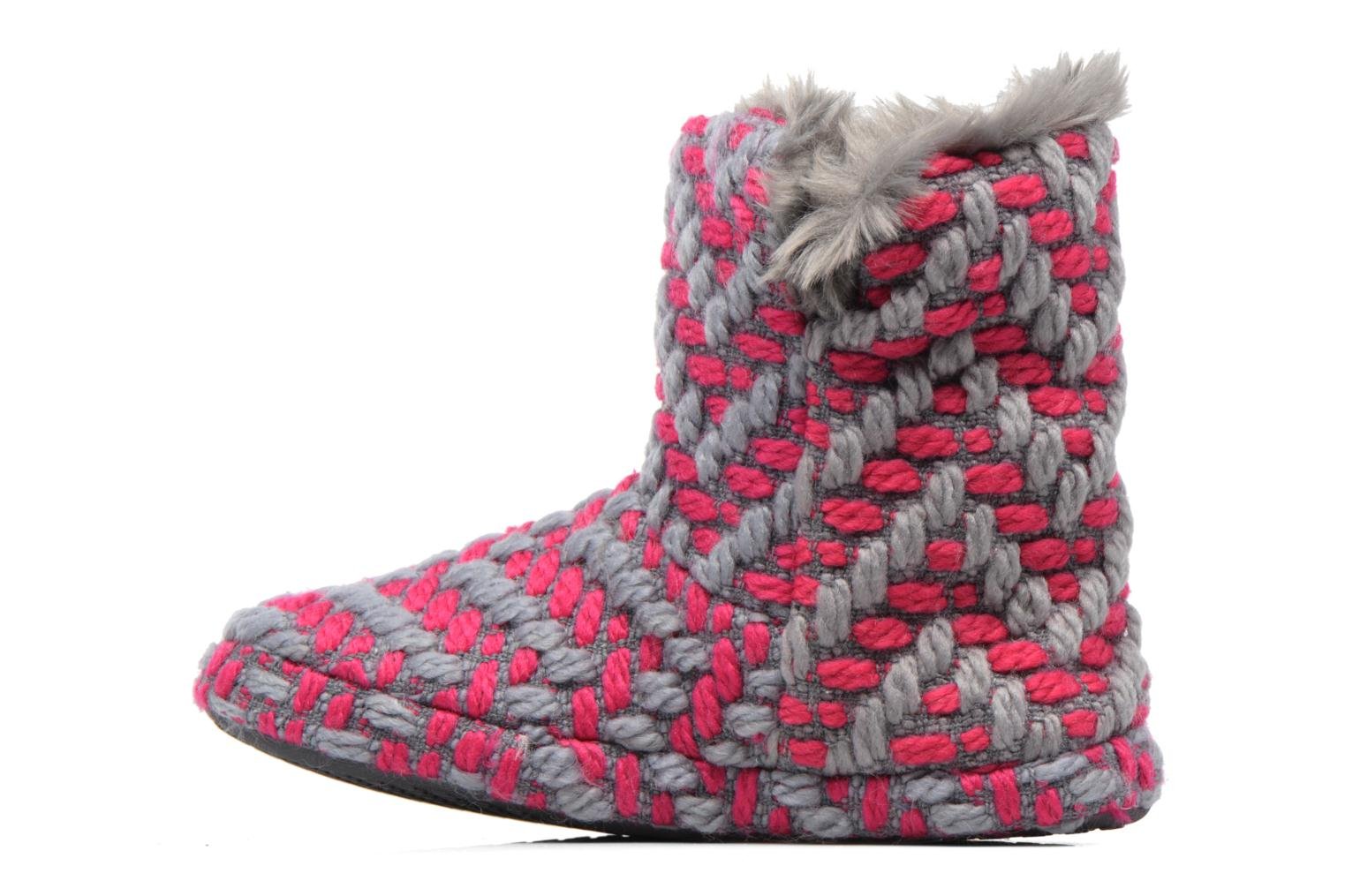 Slippers Esprit KNITTY BOOTIE Grey front view