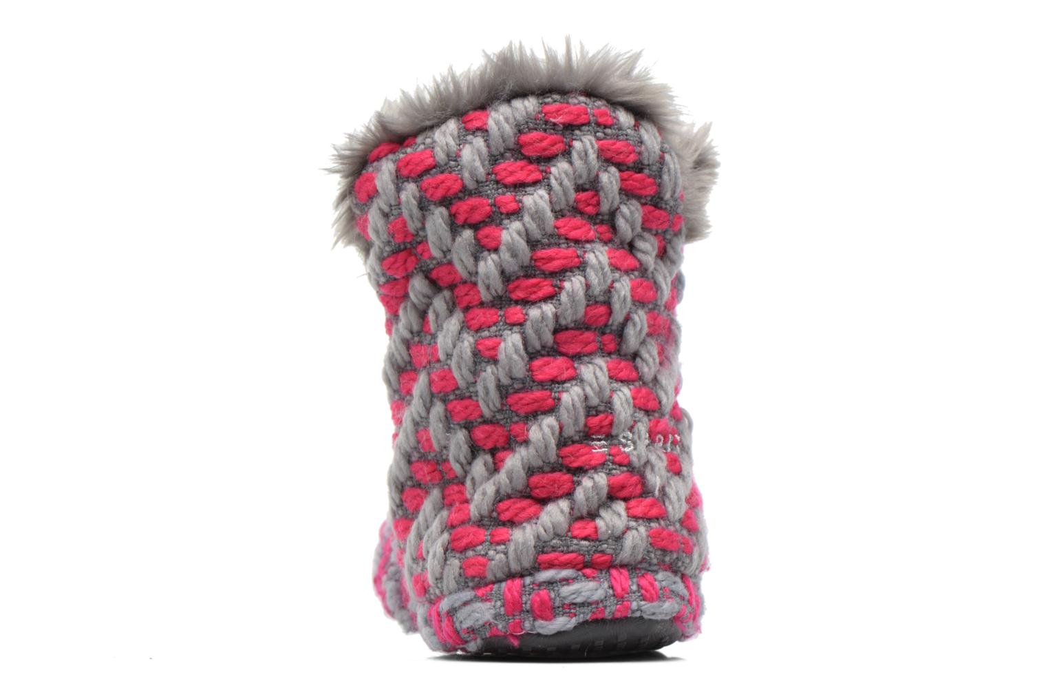 KNITTY BOOTIE Dark Pink