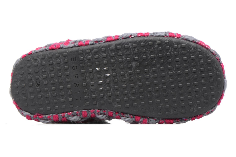 Pantofole Esprit KNITTY BOOTIE Grigio immagine dall'alto