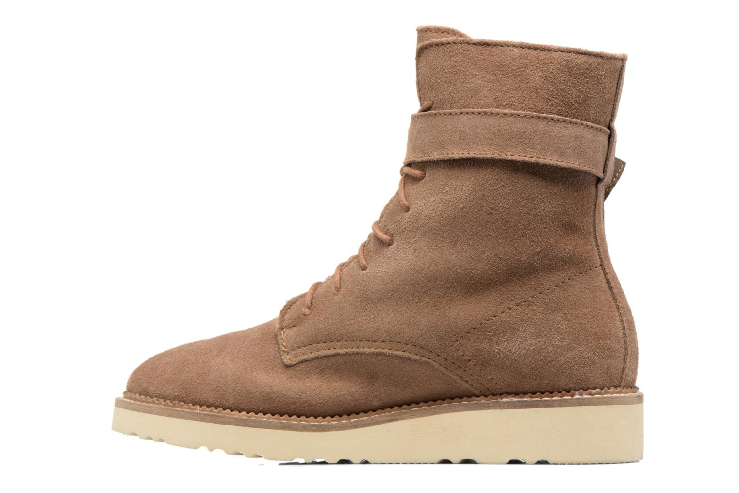 Ankle boots Esprit CORTINA BOOTIE Brown front view