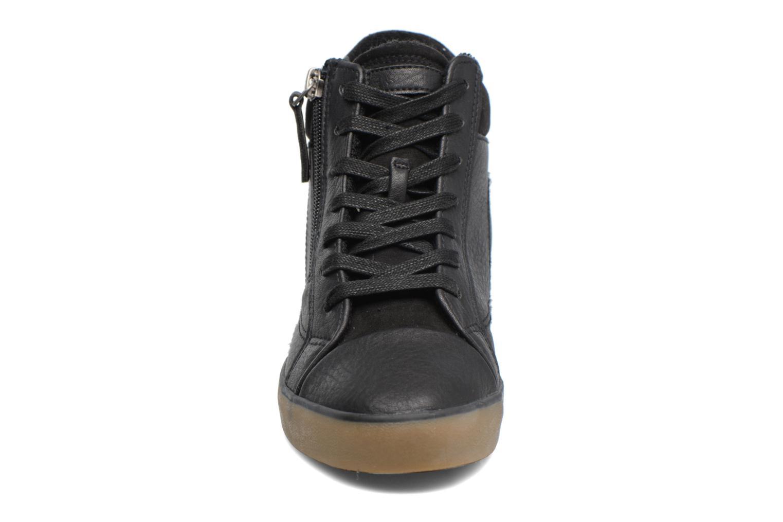 Baskets Esprit STAR WEDGE Noir vue portées chaussures