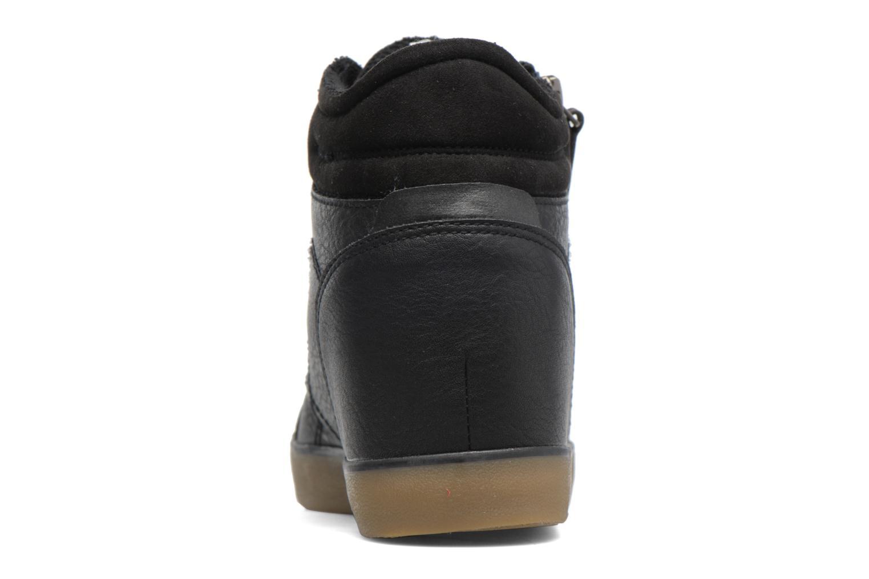 Sneakers Esprit STAR WEDGE Zwart rechts