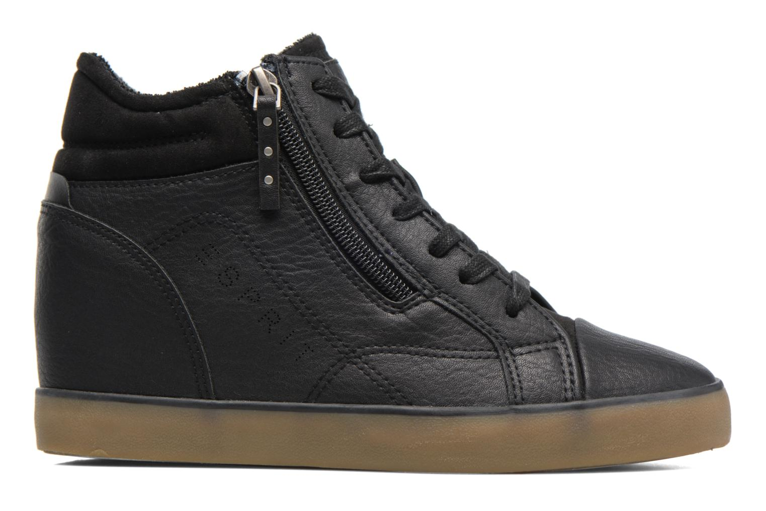 Trainers Esprit STAR WEDGE Black back view