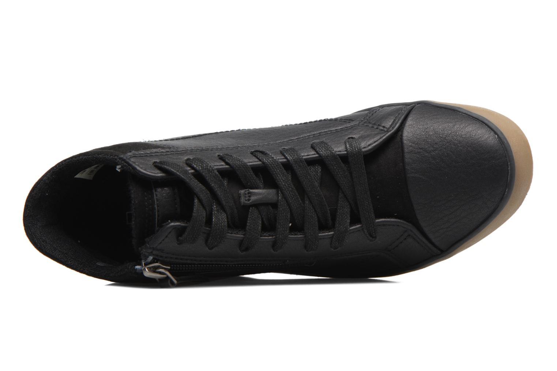 Sneakers Esprit STAR WEDGE Zwart links