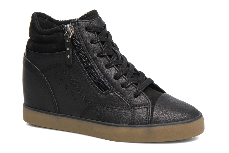 Sneakers Esprit STAR WEDGE Zwart detail