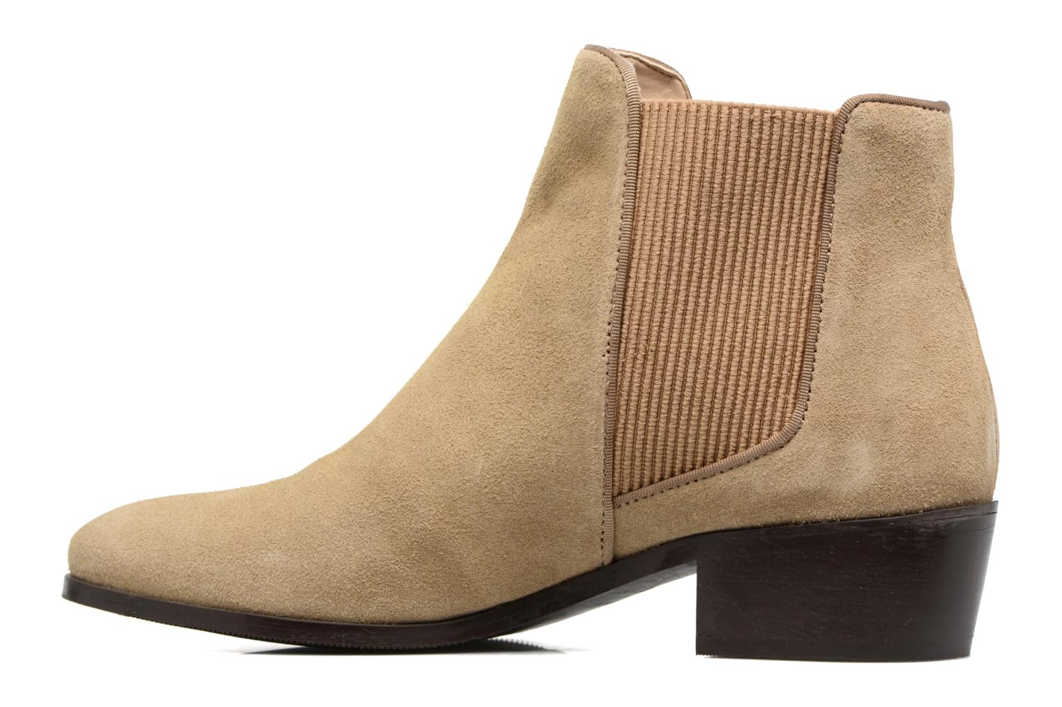 Ankle boots Esprit YUE BOOTIE Brown front view