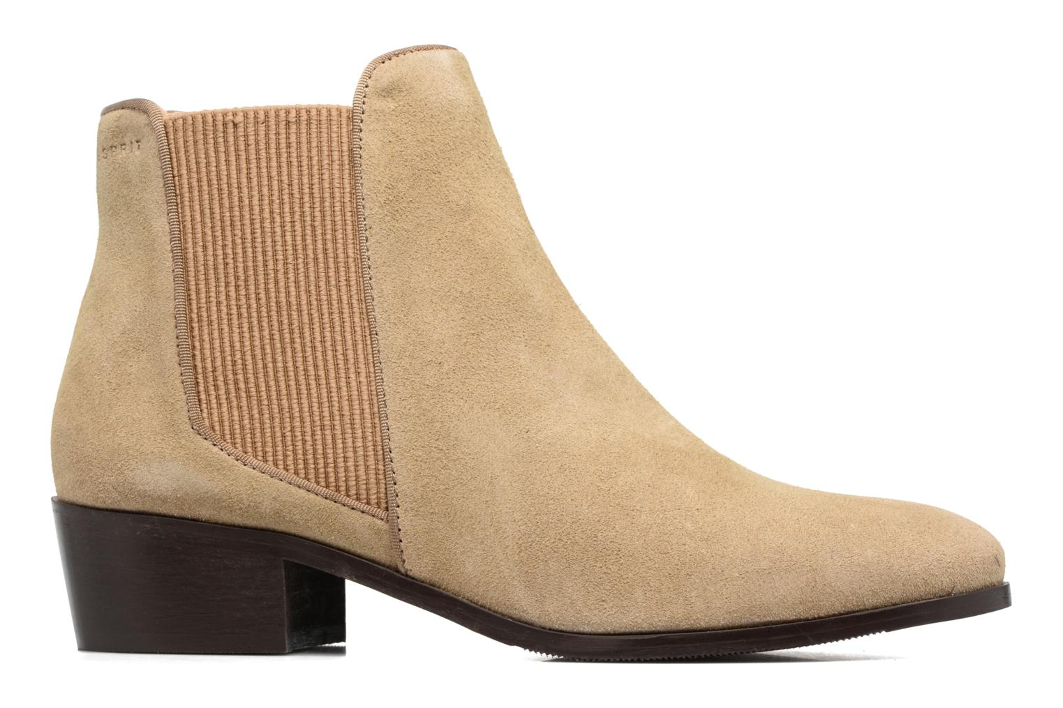 Ankle boots Esprit YUE BOOTIE Brown back view