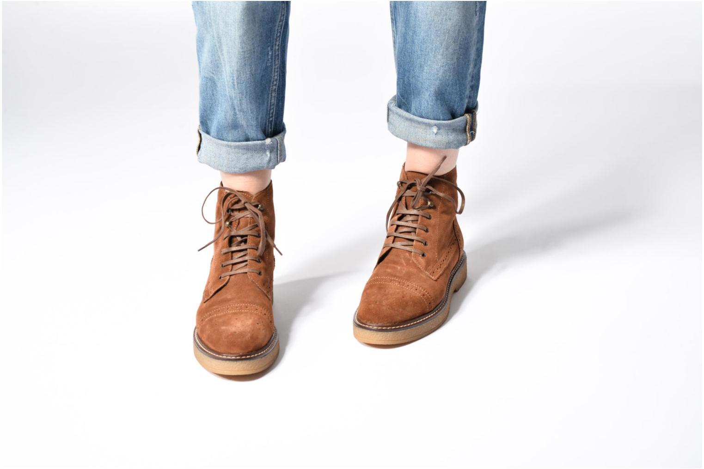 Stiefeletten & Boots Esprit JONE LOU braun ansicht von unten / tasche getragen