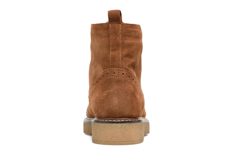 Boots en enkellaarsjes Esprit JONE LOU Bruin rechts