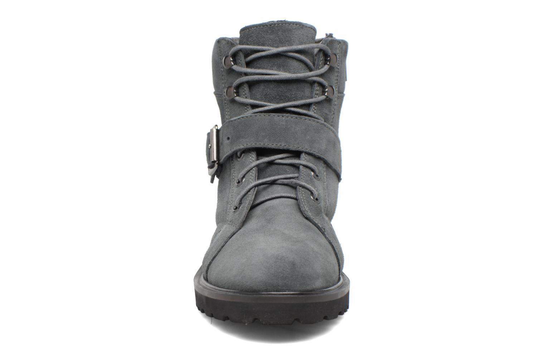 Bottines et boots Esprit MEGEE BUCKLE BOOTIE Gris vue portées chaussures