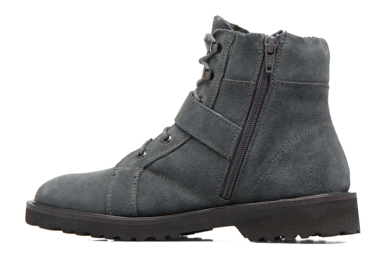 Bottines et boots Esprit MEGEE BUCKLE BOOTIE Gris vue face