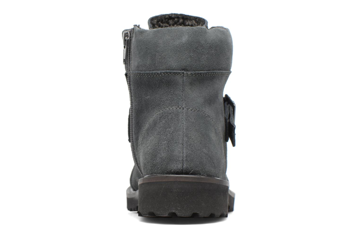 Ankle boots Esprit MEGEE BUCKLE BOOTIE Grey view from the right