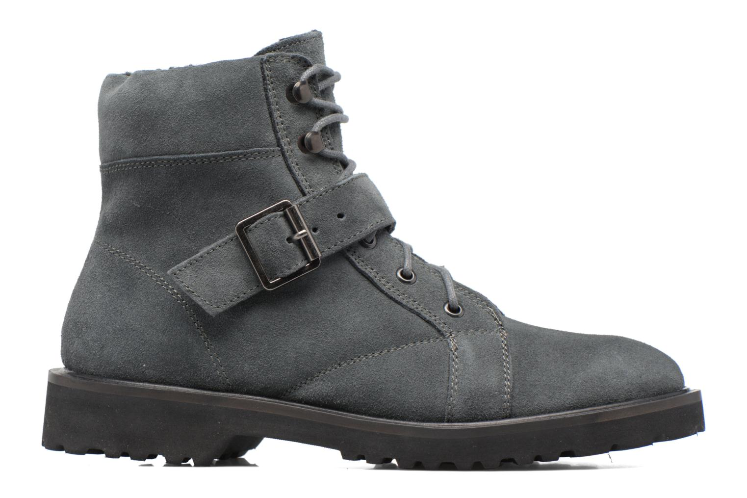 Ankle boots Esprit MEGEE BUCKLE BOOTIE Grey back view