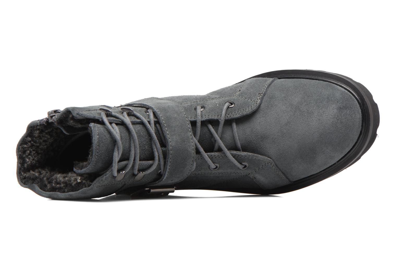 Stiefeletten & Boots Esprit MEGEE BUCKLE BOOTIE grau ansicht von links