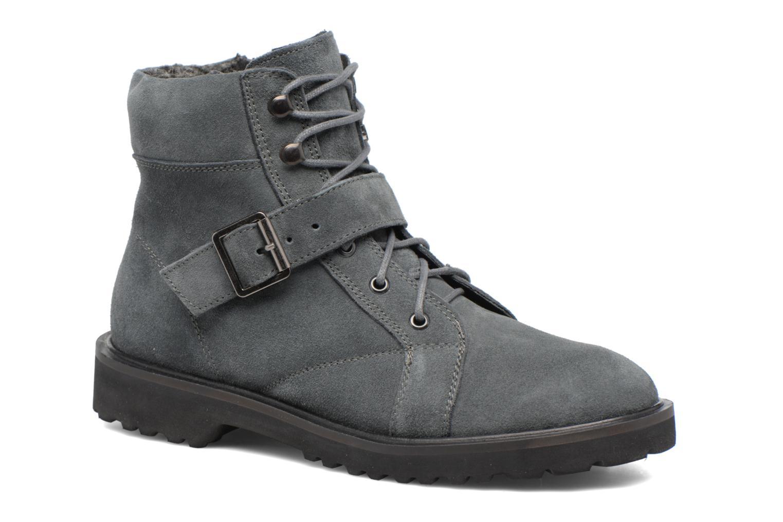Bottines et boots Esprit MEGEE BUCKLE BOOTIE Gris vue détail/paire