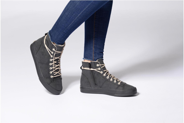 Sneaker Esprit SIMONA BOOTIE schwarz ansicht von unten / tasche getragen