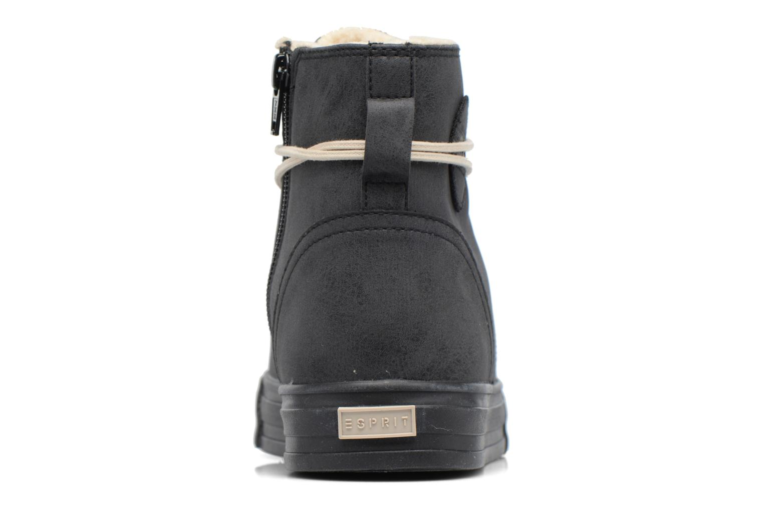 Trainers Esprit SIMONA BOOTIE Black view from the right