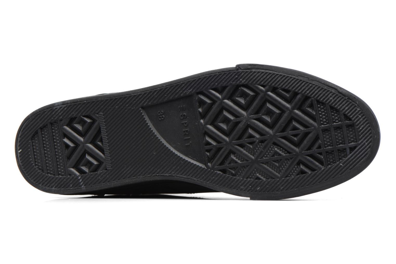 Baskets Esprit SIMONA BOOTIE Noir vue haut