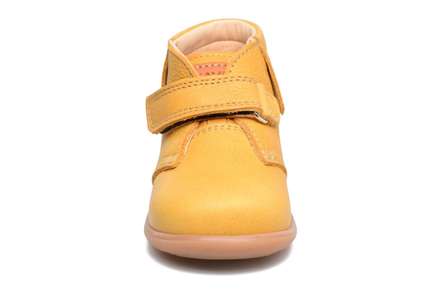 Ankle boots Kavat Tinka EP Yellow model view