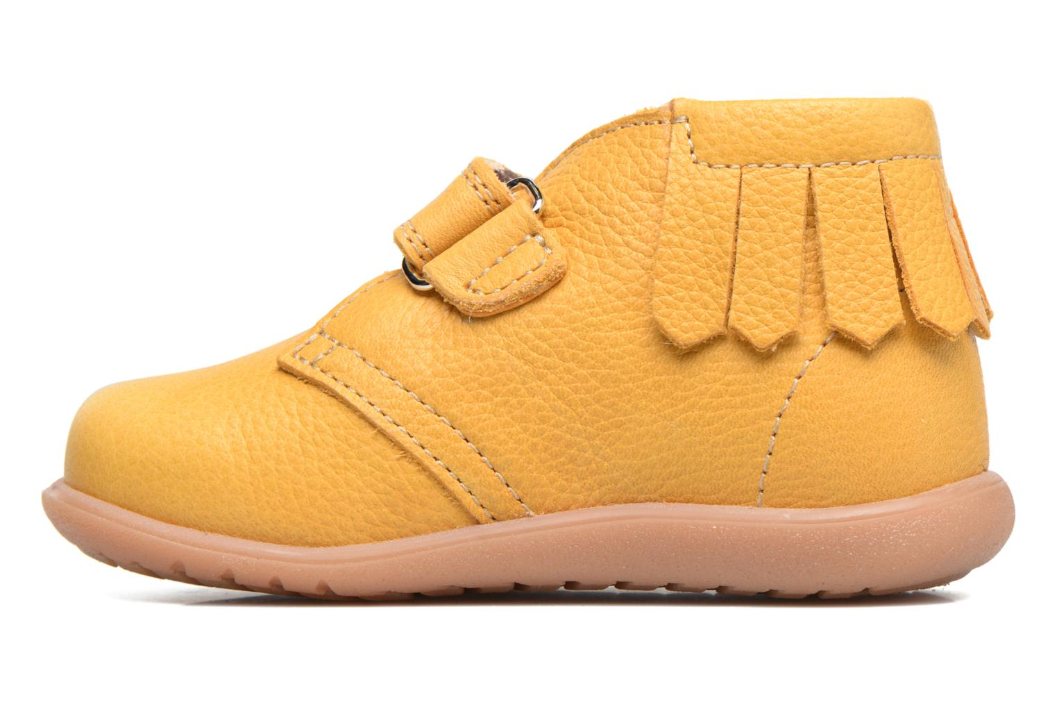 Ankle boots Kavat Tinka EP Yellow front view