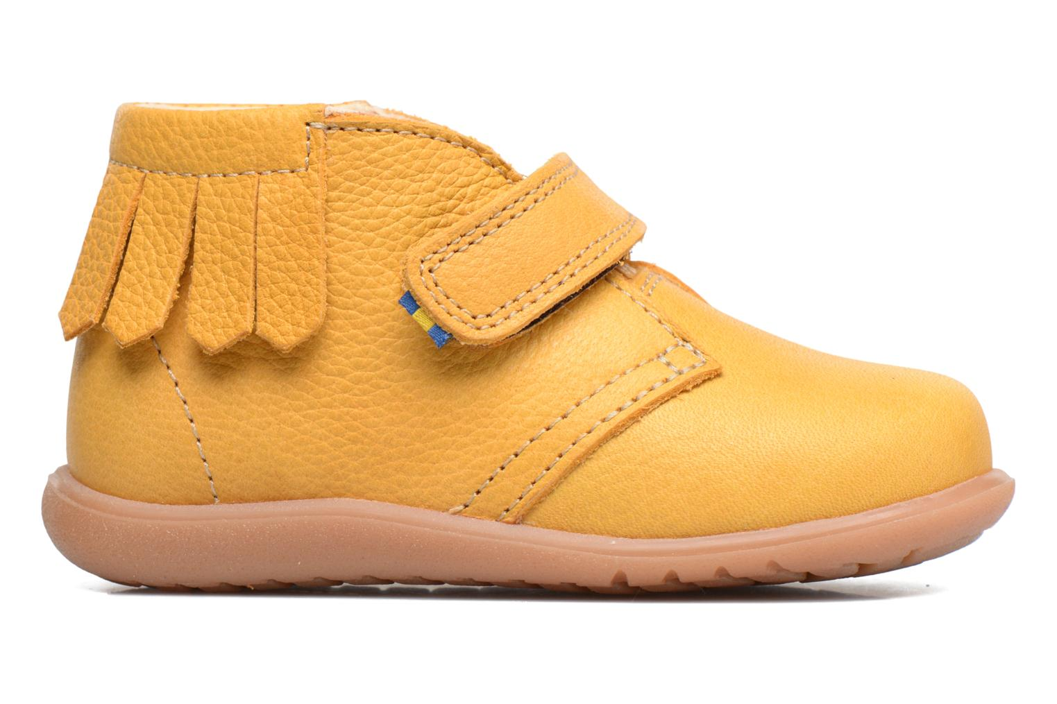 Ankle boots Kavat Tinka EP Yellow back view