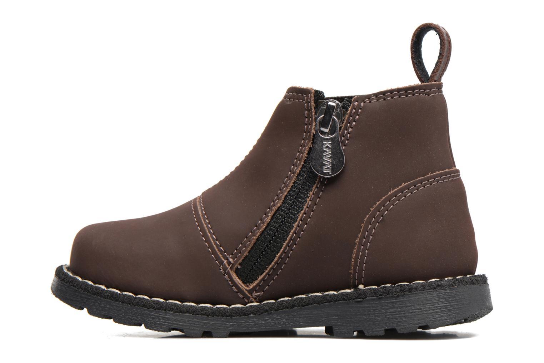 Bottines et boots Kavat Nymolla XC Marron vue face