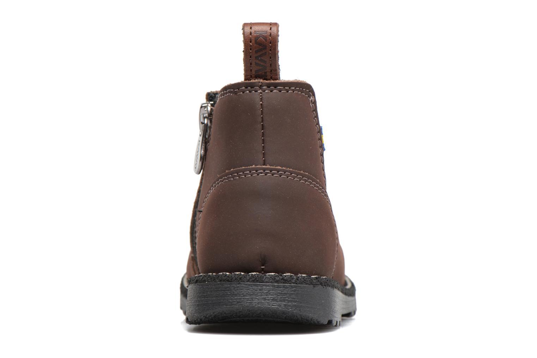 Bottines et boots Kavat Nymolla XC Marron vue droite