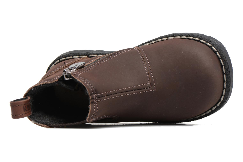 Bottines et boots Kavat Nymolla XC Marron vue gauche