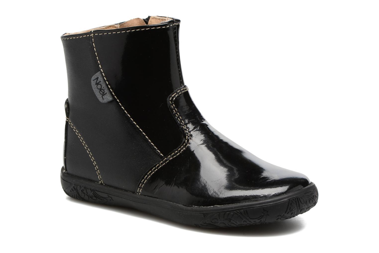 Boots en enkellaarsjes Noël Mini Amra Zwart detail