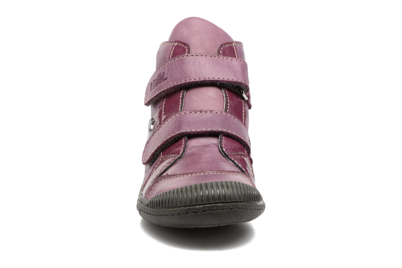Bottines et boots Noël Padone Rose vue portées chaussures