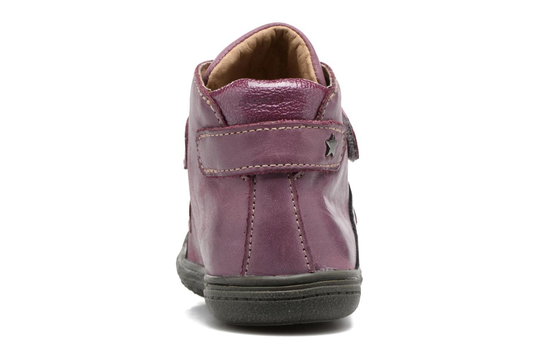 Bottines et boots Noël Padone Rose vue droite