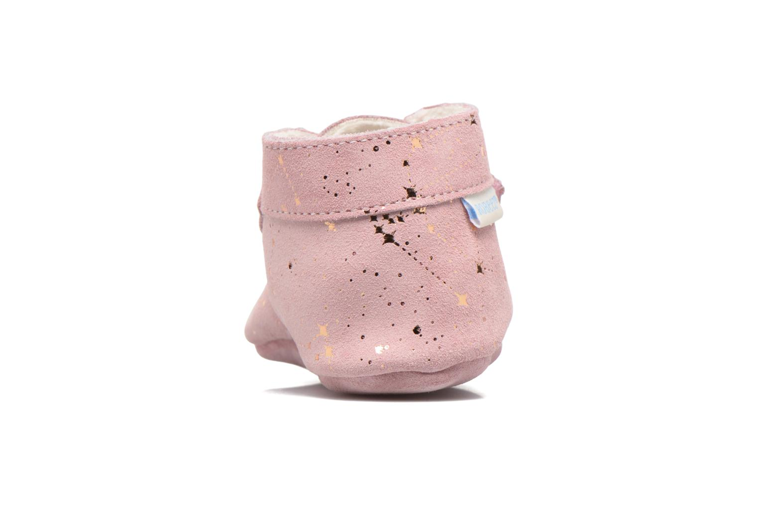 Chaussons Robeez Pole Nord 2 Rose vue droite