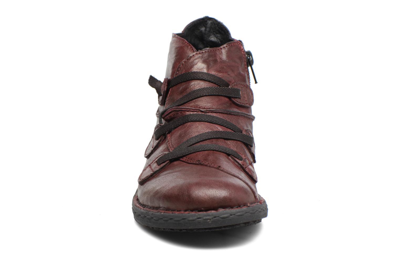 Bottines et boots Khrio Filim Bordeaux vue portées chaussures