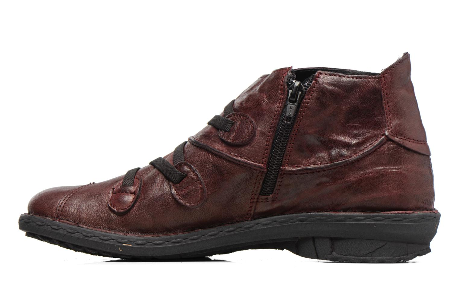 Ankle boots Khrio Filim Burgundy front view