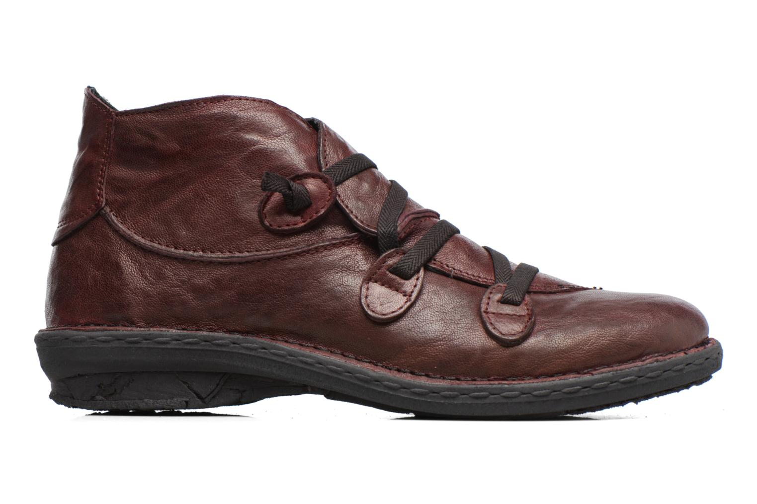 Ankle boots Khrio Filim Burgundy back view
