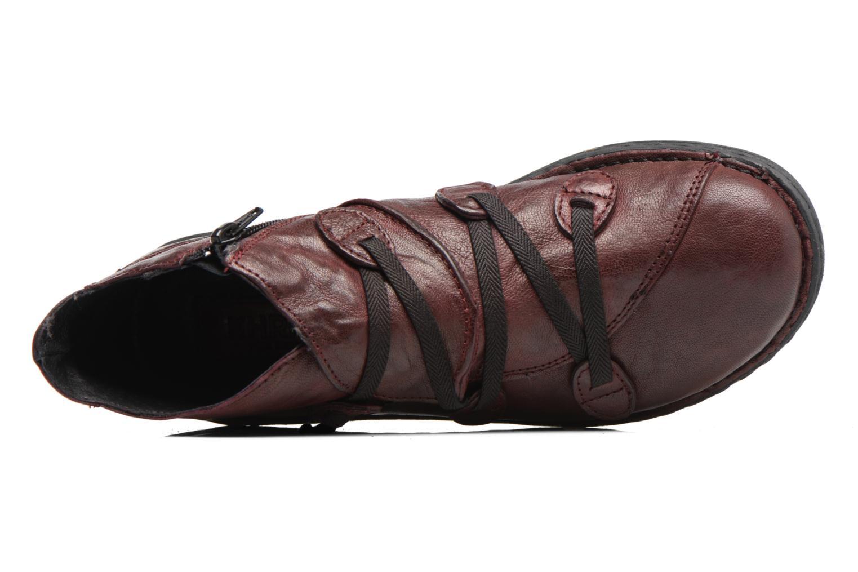 Bottines et boots Khrio Filim Bordeaux vue gauche