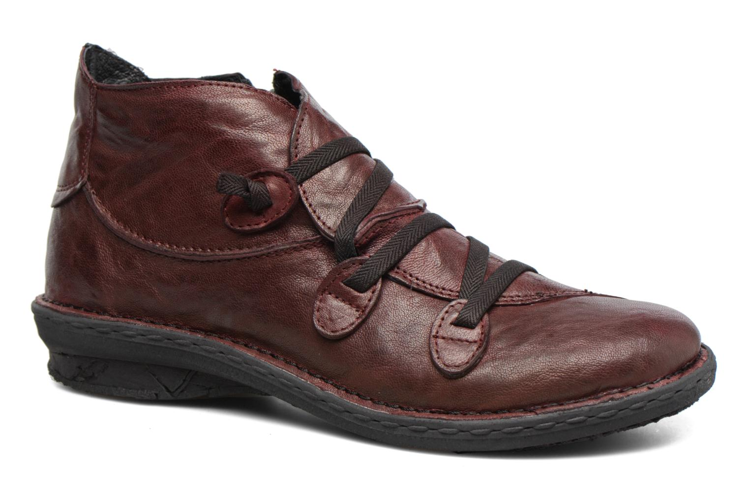 Ankle boots Khrio Filim Burgundy detailed view/ Pair view