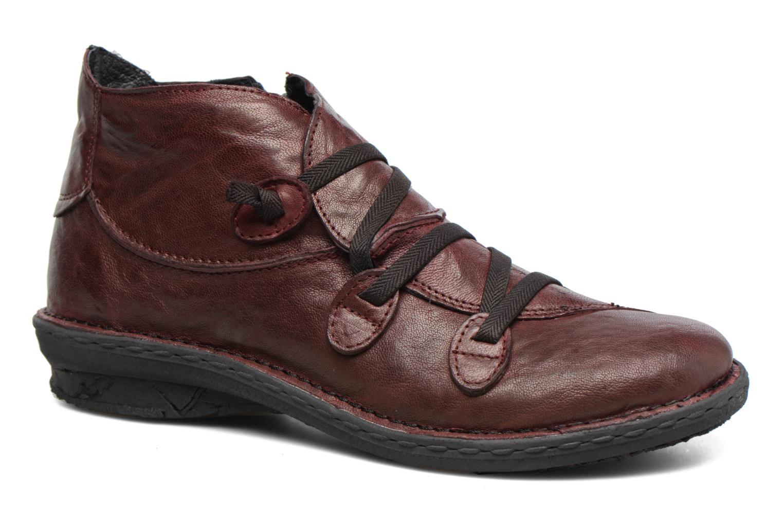 Bottines et boots Khrio Filim Bordeaux vue détail/paire